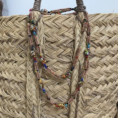 MEX Handmade Vintage India Necklace - Multi