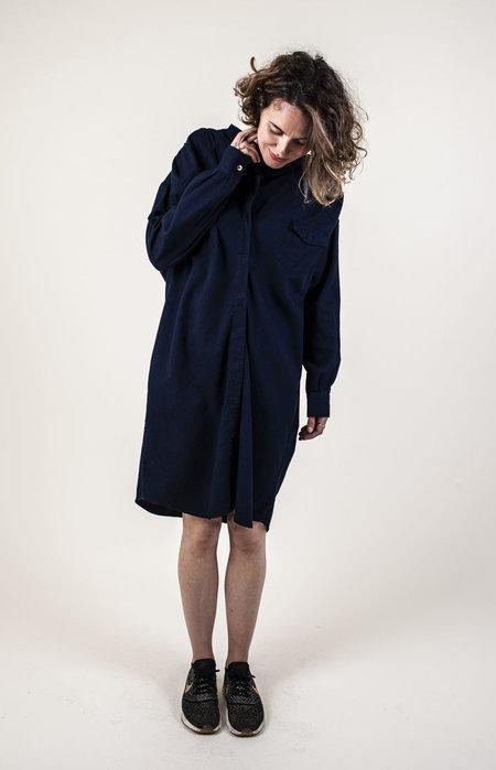 Facon Jacmin Delores Dress - MIDNIGHT BLUE