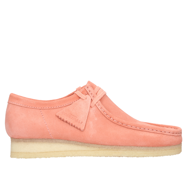 Clarks Wallabee Boot - Coral Suede
