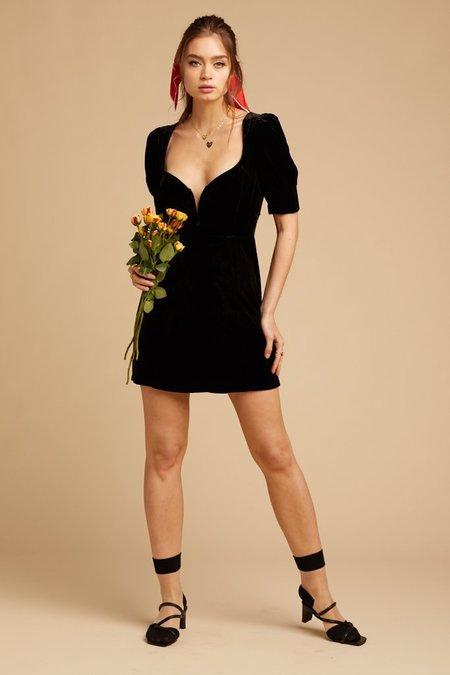For Love & Lemons Viva Dress - Black