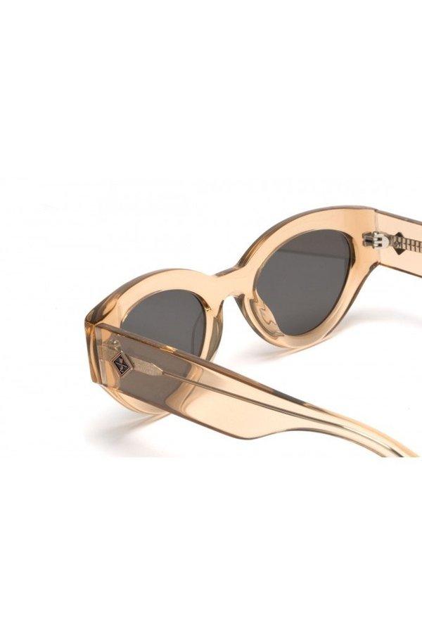 Wonderland Bombay Beach Sunglasses - Clear