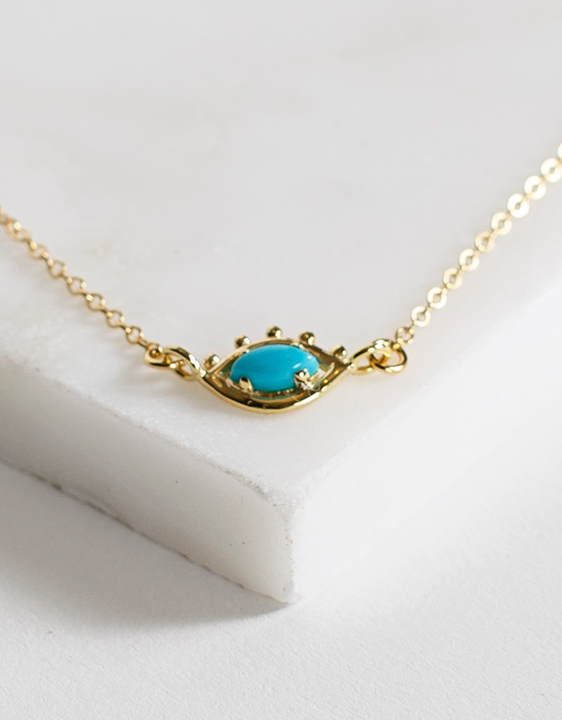 Palo Marie Turquoise Seer Necklace