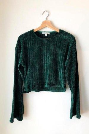 Wild Honey Aspen Sweater - Emerald
