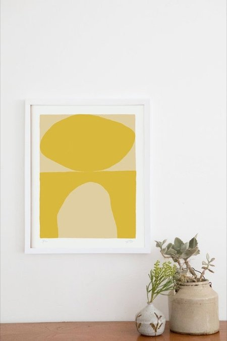 Upton Aurora Print - Gold