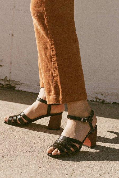 Miss L Fire Harper Sandals - Black