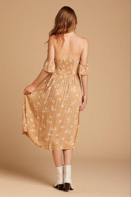 Amuse Society Regency Midi Dress - Latte