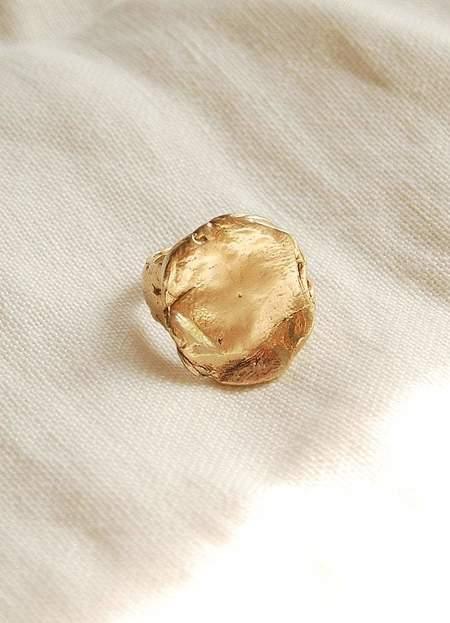 Hawkly Medallion Ring