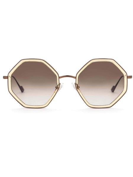 SUNDAY, SOMEWHERE HItomi Sunglasses - Champagne