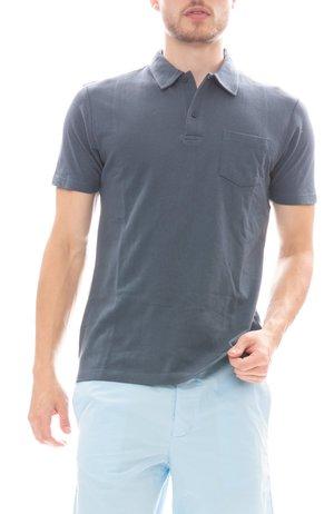 Sunspel Cotton Riviera Short Sleeve Polo Shirt