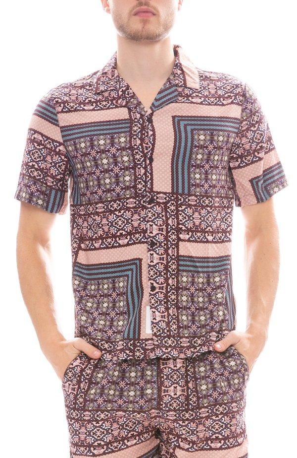 Native Youth Kendrick Shirt - Purple Print