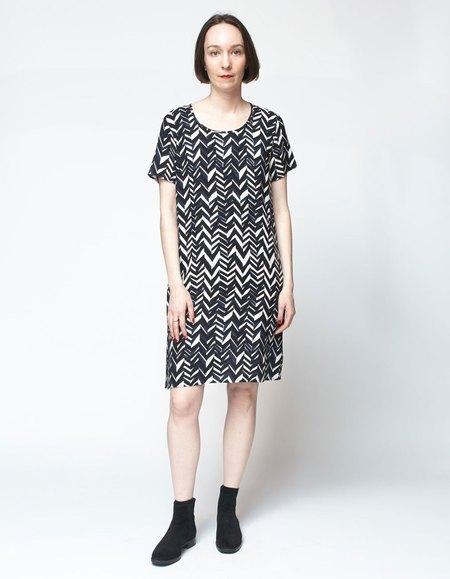 Bishop Collective Box Dress - Chevron