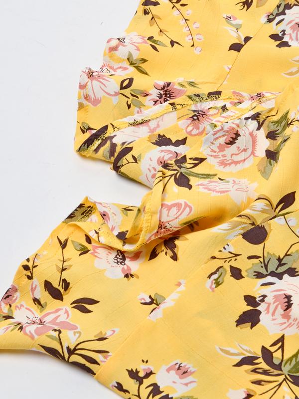 Faithfull The Brand JEANETTE DRESS - POMELINE FLORAL