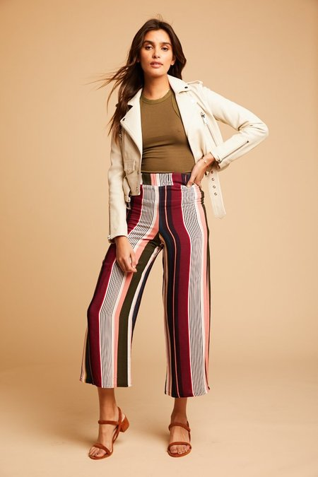 Flynn Skye On Vacation Wes Pants - stripe