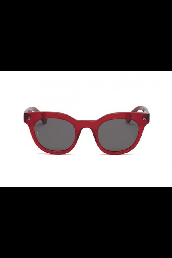 Wonderland Perris Sunglasses - Red Gel