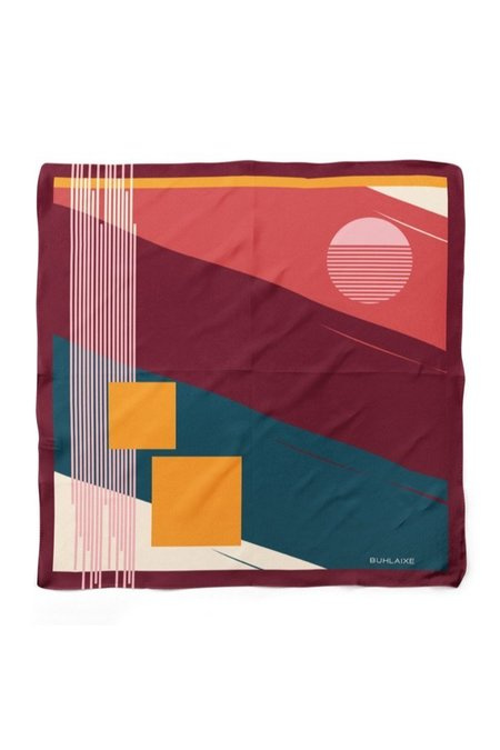 Buhlaixe Sunset Scarf - multi