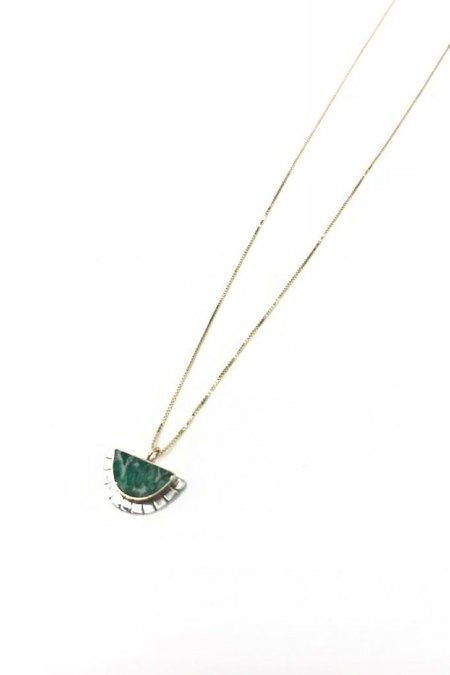 Young In The Mountains Variscite Selene Necklace