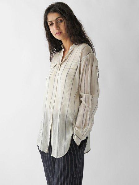 Nico Banda Shirt - White Stripe