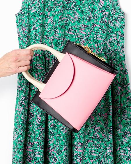 Marni Law Bag - Black/Pink