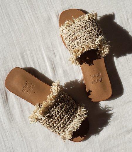 Muni Muni Cleo Slides - Natural