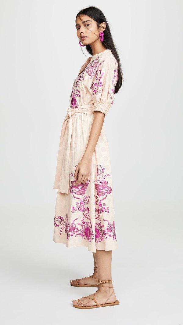 Misa Lusila Dress - Dusty Rose
