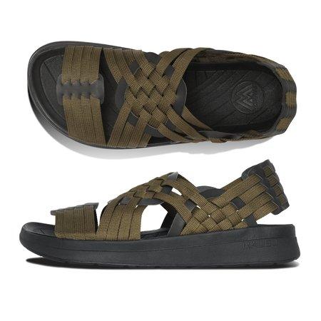 Malibu Canyon Sandals - Classic Black/Olive