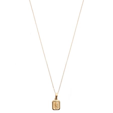 Mod + Jo Keepsake Pendant Necklace - Gold