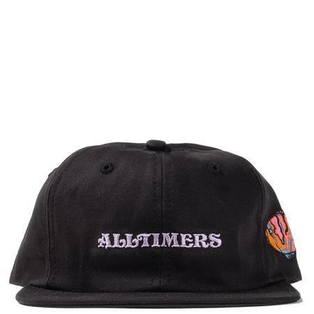 Alltimers Aqua Embroidered Twill Hat - Black