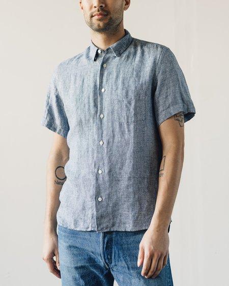 La Paz Ribeiro Shirt - Blue Squares