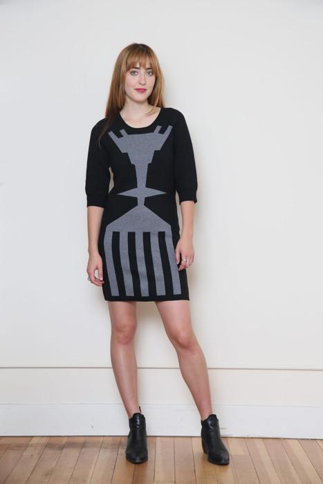 mary meyer body con dress