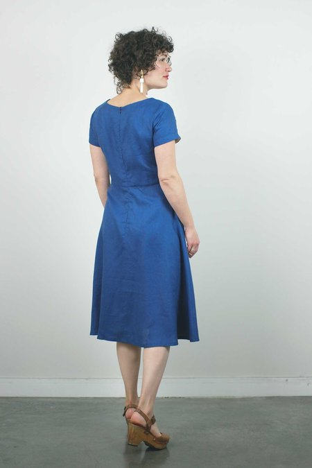 Atelier b. A-Line Dress - Blue