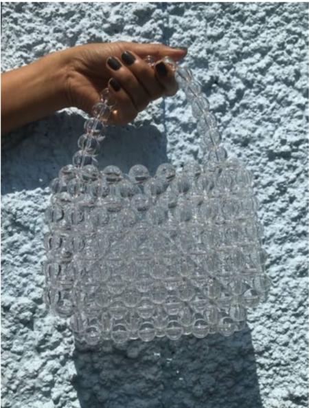 Vintage Momo Handbag - Clear