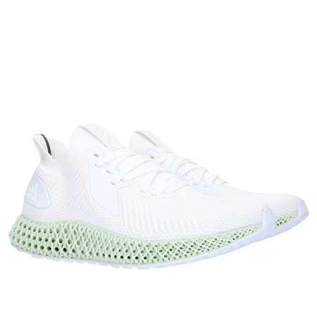 Adidas Alphaedge 4D - Footwear White/Carbon