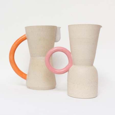 Jug by Milo made ceramics