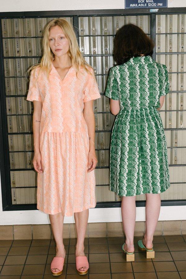 Beklina French Ribbon Fuggiamo Skirt - Flora