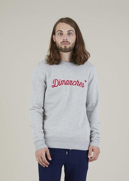 Commune de Paris Dimanches Sweatshirt - Heather Grey