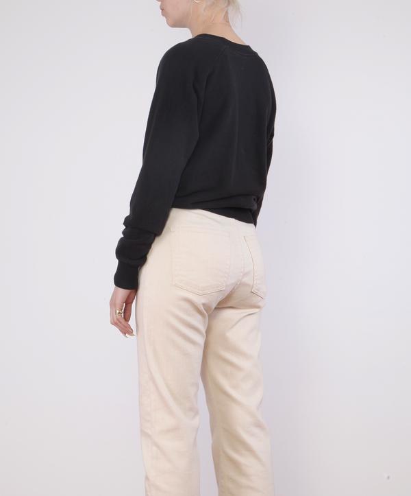 Jungmaven Alpine Raglan Sweatshirt - WASHED BLACK