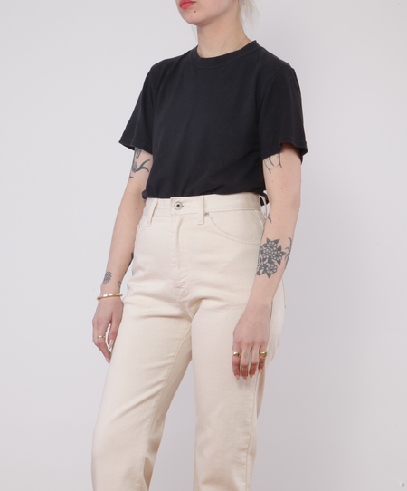 Unisex Jungmaven Jung Tee - WASHED BLACK