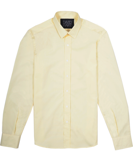 David Hart Corsica Shirt - Canary Yellow