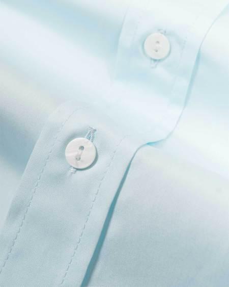 David Hart Corsica shirt - Capri Blue