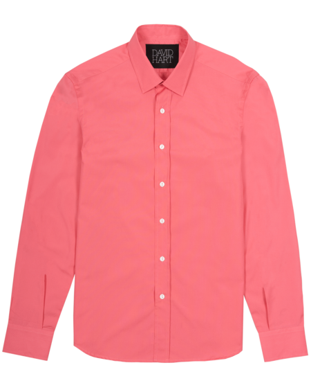 David Hart Corsica Shirt - Dusty Rose