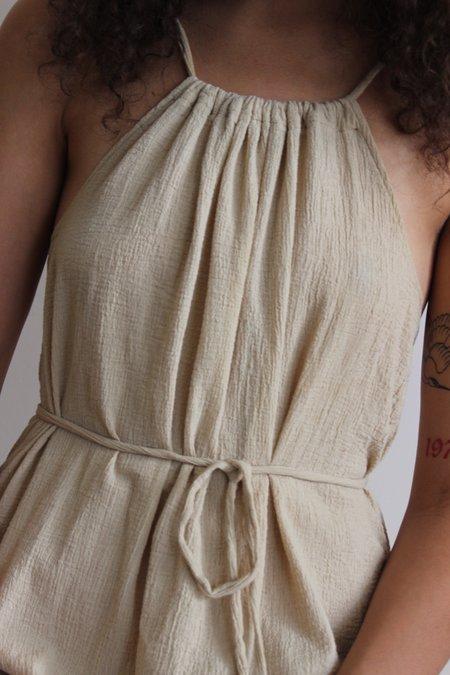 Avenue Low Back Tie Dress