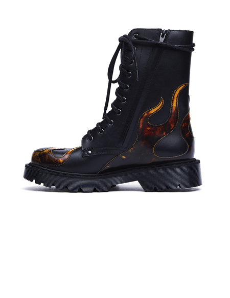 Vetements Fire Army Boots - Black