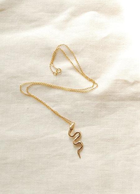 Hawkly Serpent Necklace