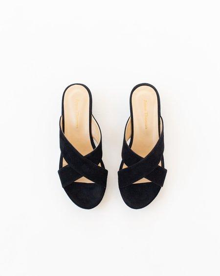 Anne Thomas Misha Slide - Black