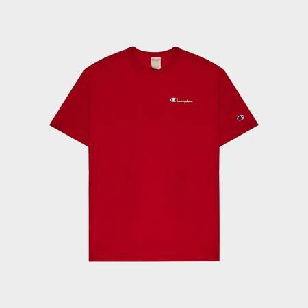 Champion Crewneck T-Shirt - red