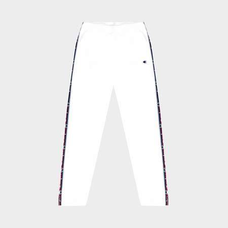 Champion Elastic Cuff Pants - white