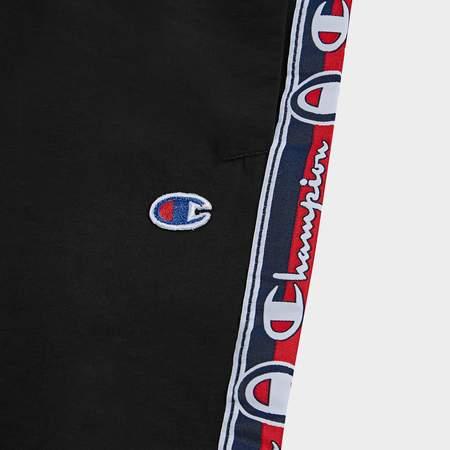Champion Elastic Cuff Pants - Black