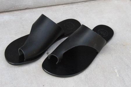 ATP Atelier Rosa Sandals - black