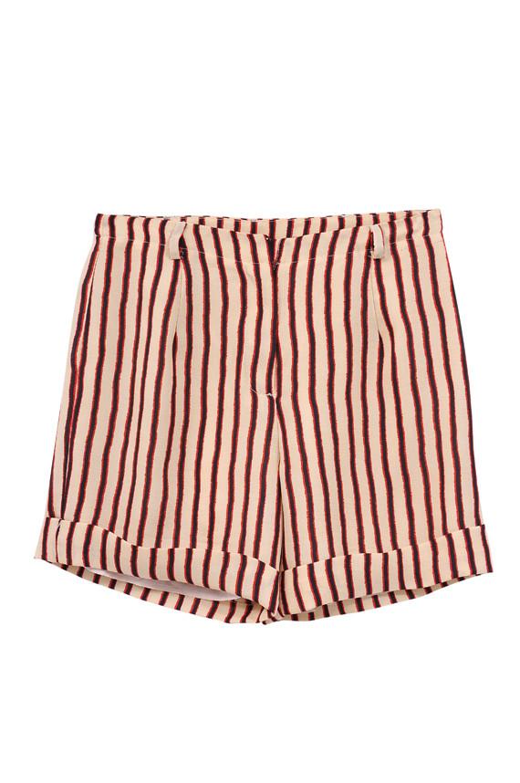 The Korner Retro Stripe Shorts