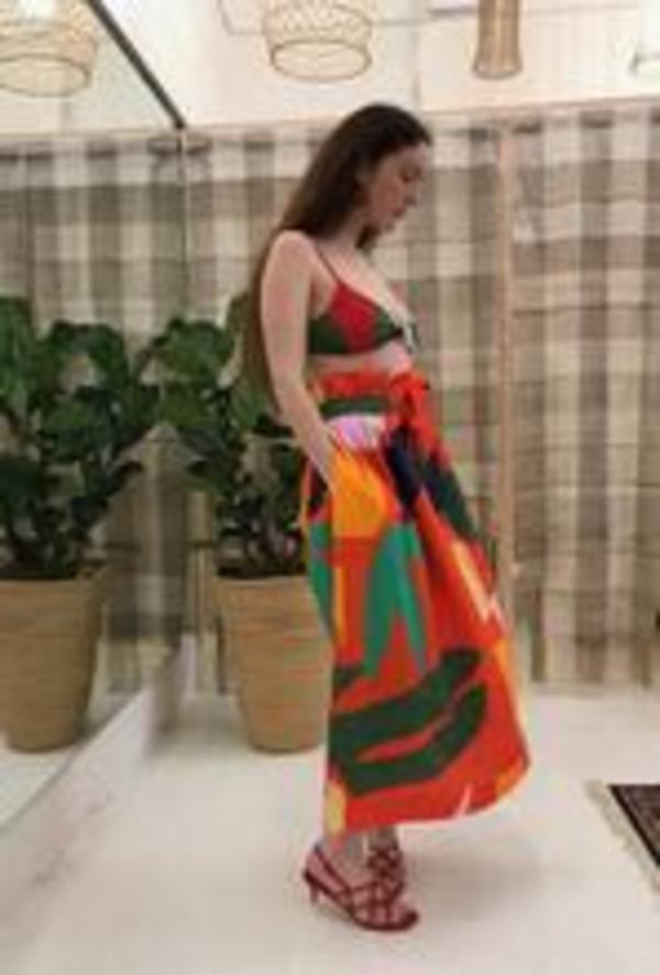 Mara Hoffman Carla Bikini Top - Mobil Colourclock